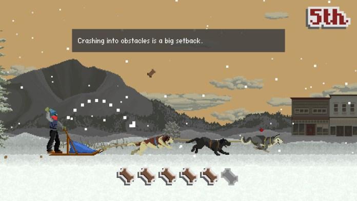 Dog Sled Saga is a Kickstarter funded racing RPG where players take control of a dog sled team.