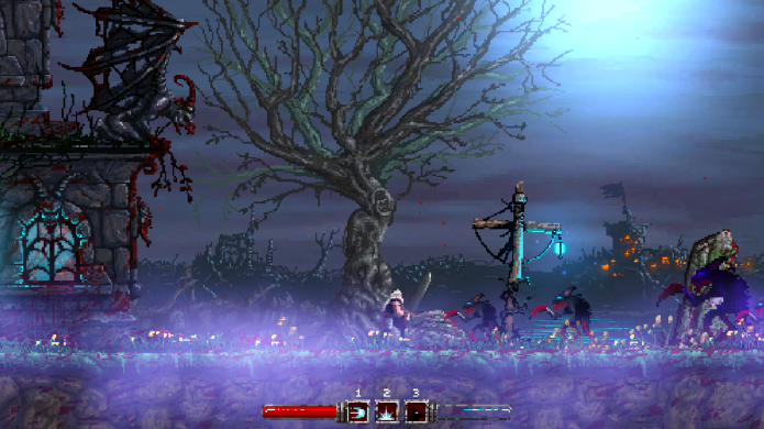 Slain is an action platformer with over the top violence coming to Kickstarter.