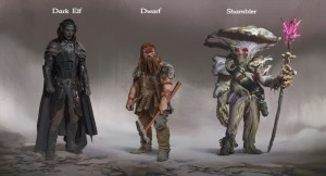 Underworld Ascendant: The Three Main Factions