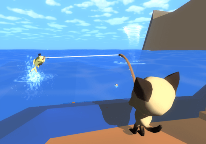 CatFish is an open world fishing game, with cats. It's crowdfunding on Kickstarter until February 10th.