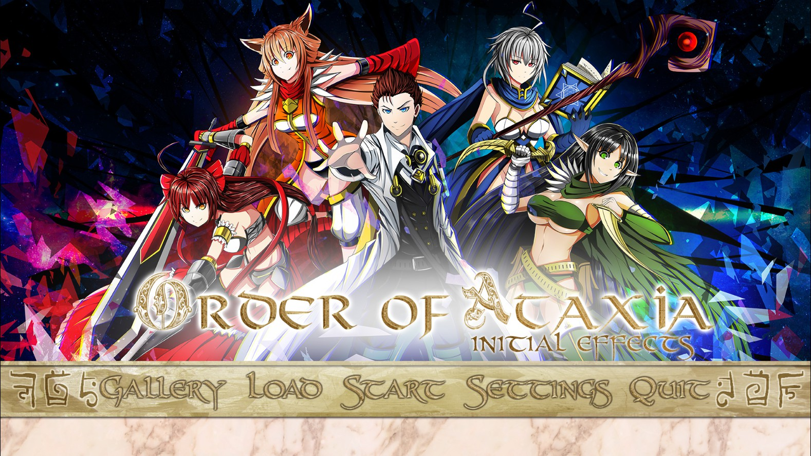 Order of Ataxia: Initial Effects