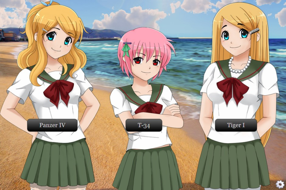 Girl tank dating sim
