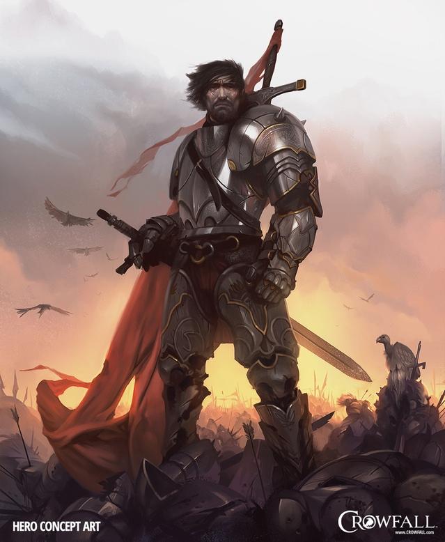 Crowfall: Hero, the First Crow