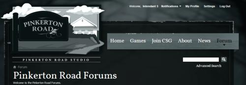 Pinkerton Road Forums