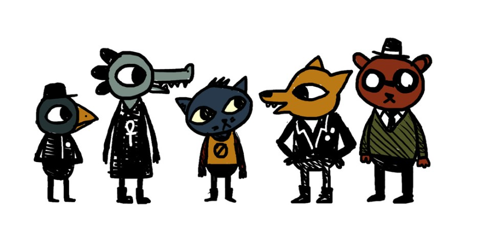 Night in the Woods Sketch