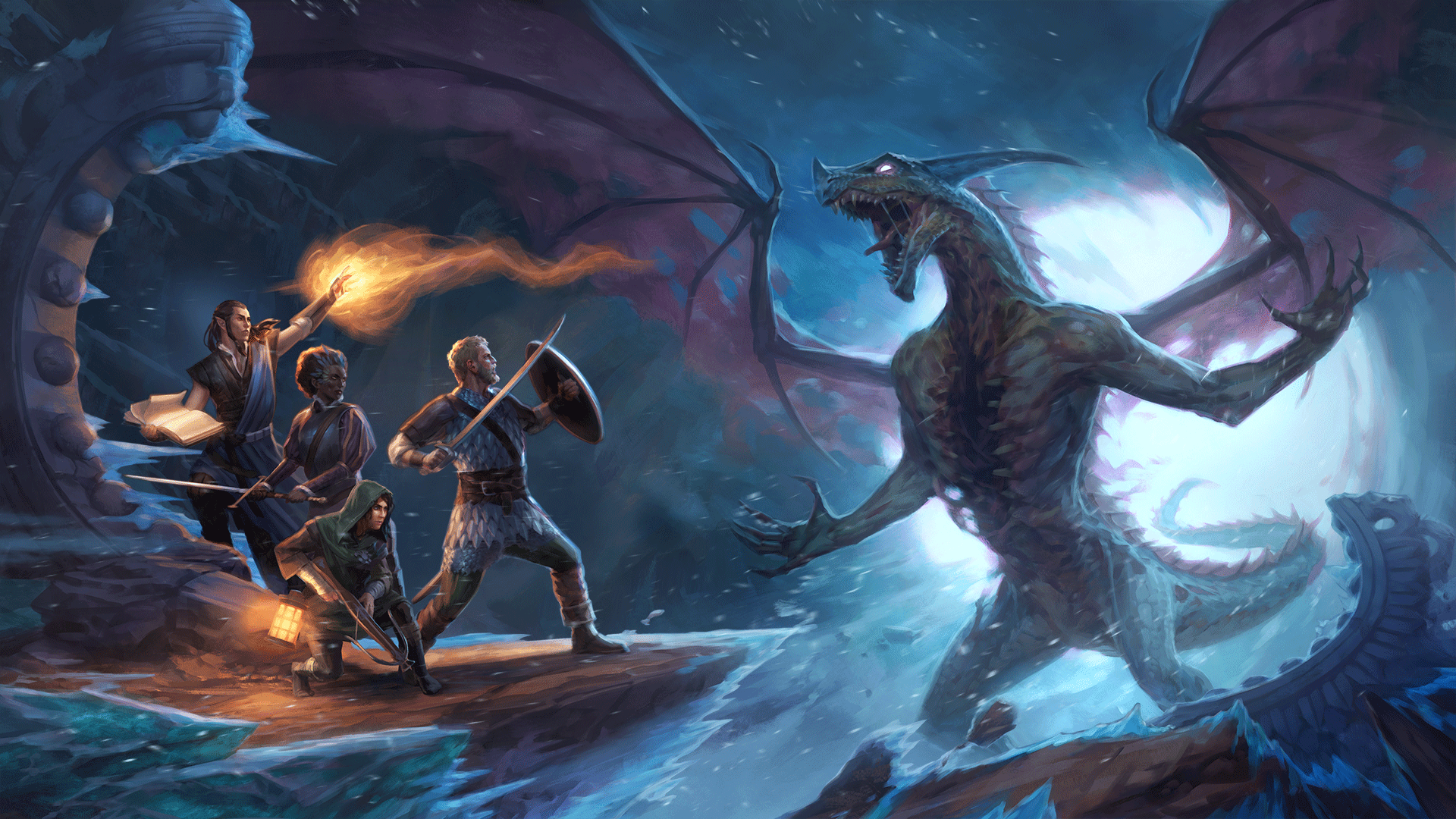 Pillars of Eternity II: Deadfire Beast of Winter