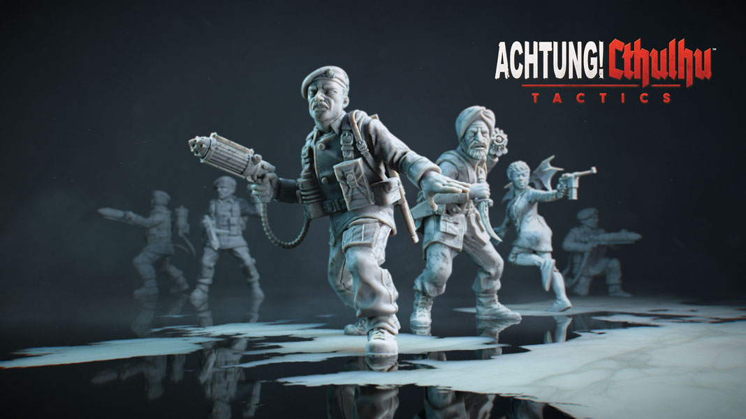 Achtung! Cthulhu Tactics Review: Occult Strategy in World War II