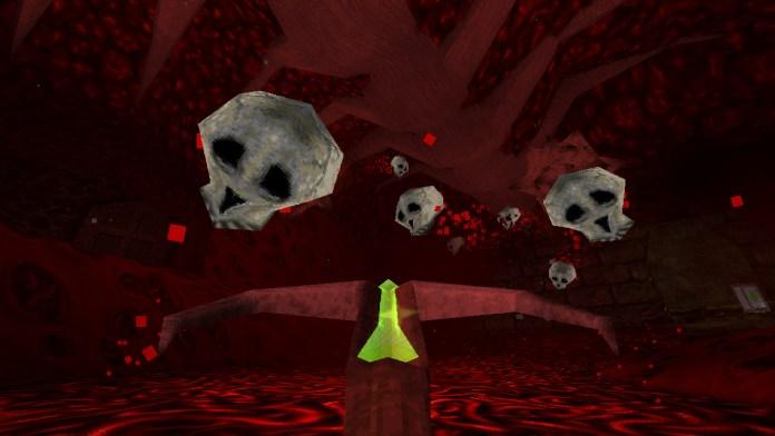 Dusk - Floating Skulls