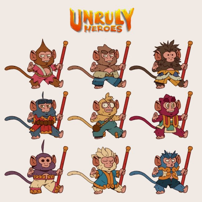 Unruly Heroes 4 Alexandre Diboine