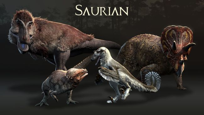 Saurian is a dinosaur sim game.