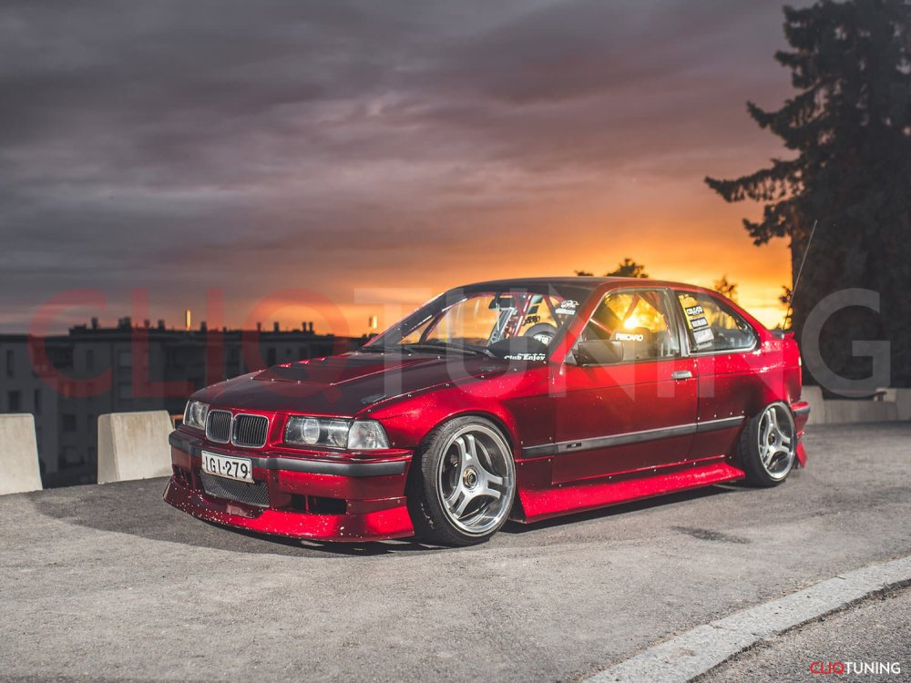 medium resolution of bmw e36 compact aero kit overfenders 318ti 323ti aerokit over fenders for drift and stance cliqtuning