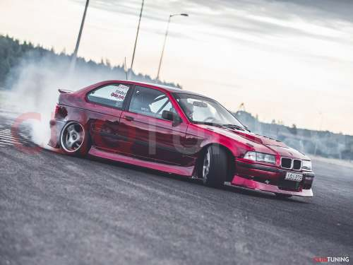 small resolution of bmw e36 compact aero kit overfenders 318ti 323ti aerokit over fenders for drift and stance cliqtuning