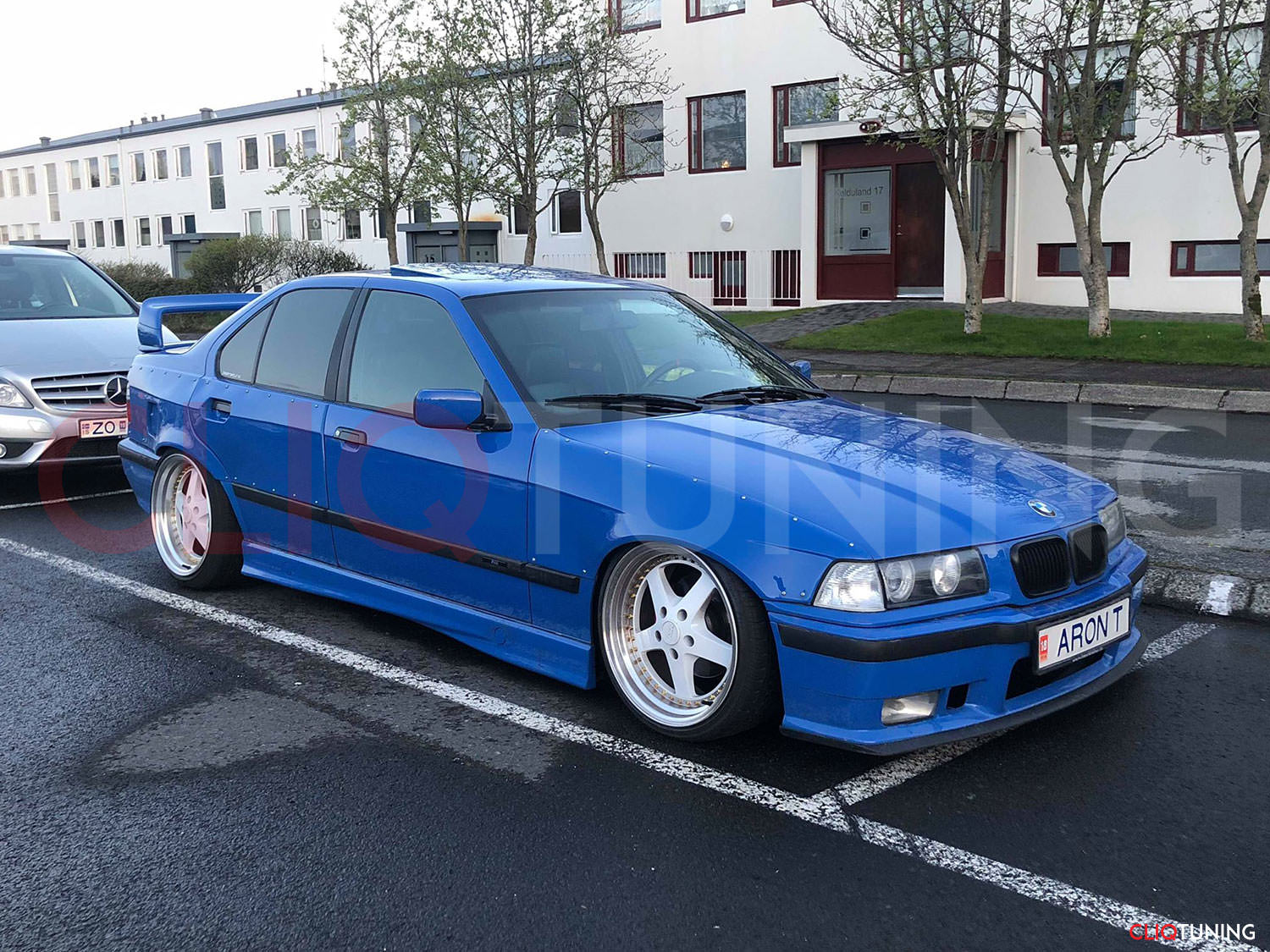 hight resolution of bmw e36 sedan front and rear overfenders over fenders wide body 50mm 40mm for drift track