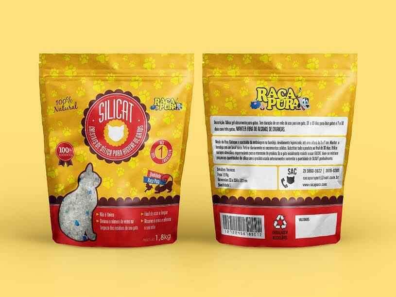 Design de embalagens para Raça Pura Pet Distribuidora