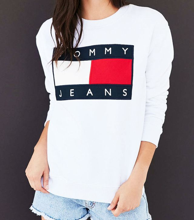 Tommy Jeans For UO '90s Pullover Sweatshirt