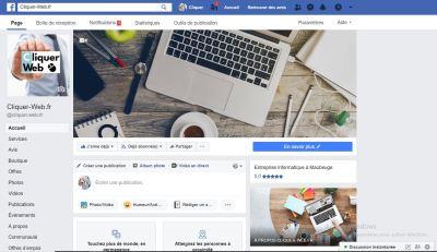 facebook cliquer web