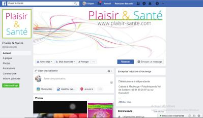 facebook plaisir sante
