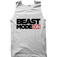 Beast Mode On gym inspired tank top / vest by Clique Wear