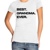 Best grandma ever t-shirt by Clique Wear