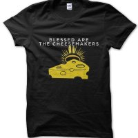 Blessed Are The Cheesemakers Monty Python inspired t-shirt by Clique Wear
