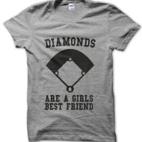 Diamonds are a Girls Best Friend t-shirt by Clique Wear
