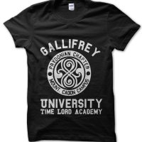 Gallifrey University Dr Who Time Lord t-shirt by Clique Wear