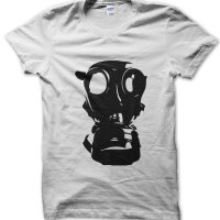 Gas Mask t-shirt by Clique Wear