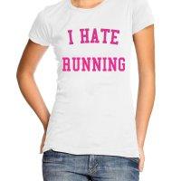 I Hate Running t-shirt by Clique Wear