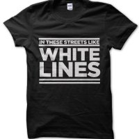 In These Streets Like White Lines t-shirt by Clique Wear