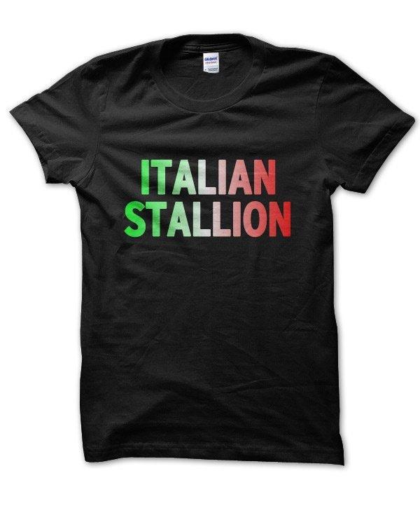 Italian Stallion t-shirt by Clique Wear