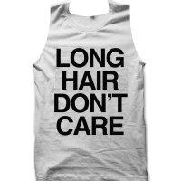 Long Hair Don't Care tank top / vest by Clique Wear