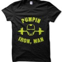 Pumping Iron Man t-shirt by Clique Wear