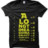 Star Wars eye test t-shirt by Clique Wear