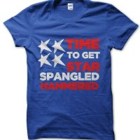 Time to get star spangled hammered t-shirt by Clique Wear