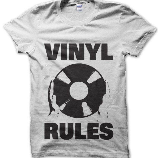 Vinyl Rules t-shirt by Clique Wear
