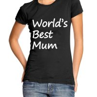 World's Best Mom t-shirt by Clique Wear