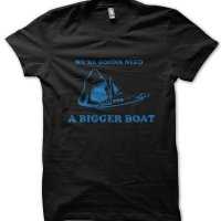 We're Gonna Need a Bigger Boat Jaws t-shirt by Clique Wear