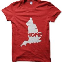 England Home t-shirt by Clique Wear