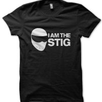 I am the Stig Top Gear inspired t-shirt by Clique Wear