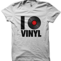 I love vinyl t-shirt by Clique Wear