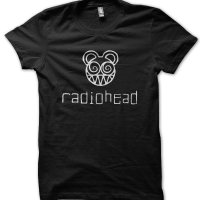 Radiohead rock band metal music t-shirt by Clique Wear