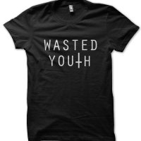 Wasted Youth music band inspired t-shirt by Clique Wear