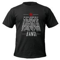 Big Bang Theory lyrics t-shirt by Clique Wear