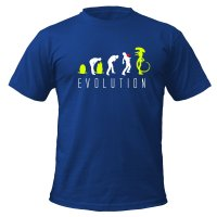 Evolution of Alien t-shirt by Clique Wear
