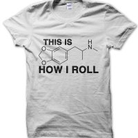 This is how I roll ecstasy t-shirt by Clique Wear