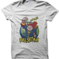 Bullshitman Dont Talk Shit t-shirt by Clique Wear