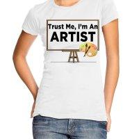 Trust Me Im an Artist t-shirt by Clique Wear