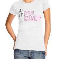 Popieram Dziewuchy t-shirt by Clique Wear