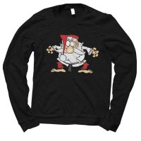 Santa Judo Karate Christmas jumper by Clique Wear