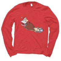 Santa Sleigh Christmas jumper by Clique Wear